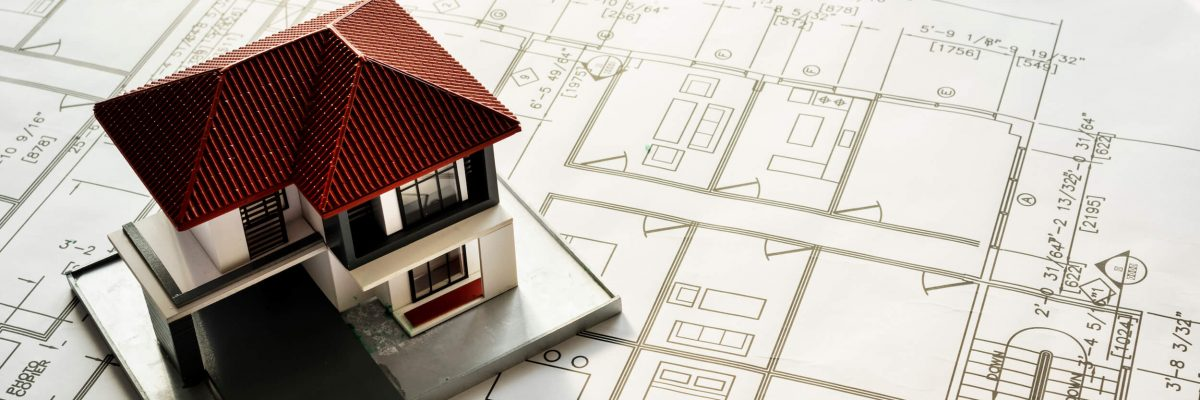 closeup-of-house-plan-blueprint-P8AT9YC